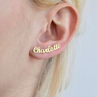 Custom Name Earrings Personalized Gift for Her
