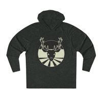 Deer Unisex Tri-Blend Hoodie - Intentional Souls