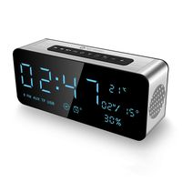 Alarm Clock Radio Bluetooth Speakers for iPhone, iPad/iPod/Android and Tablets, FM Radio Home Stereo