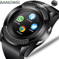 BANGWEI Men Women Smart Watch WristWatch Support With Camera Bluetooth SIM TF Card Smartwatch For Android Phone Couple Watch | kofshopping
