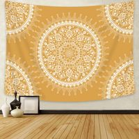 Yellow Mandala Tapestry - Tapestry Girls