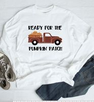 Ready for the pumpkin patch  shirt