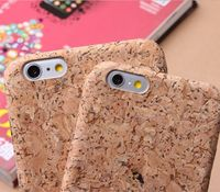 Cork Wood iPhone Case - KetanGreenMateria