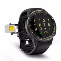 F1 1.3inch Bluetooth 4.0 Smartwatch 2G SIM Full Round IPS Touch Screen MT2503 Chip Smart GPS Sports Watch Phone for IOS Android