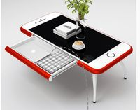 3D Cell Phone Coffee Table