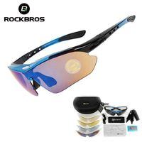 ROCKBROS Polarized Cycling Glasses with INNER-Frame