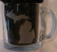 "13 oz. Coffee Cup  ""State Silhouette"" (All States Available)"