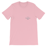 """T-shirt in Pink with the words """"You Are Not your Illness"""" written in black text."""