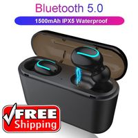 TWS HBQ-Q32 True Wireless In-Ear Buds w/ Dual Action Waterproof Charging Case (Free shipping) - Pizotec