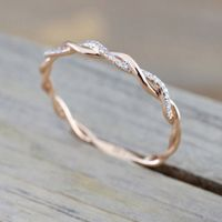 Twisted Shape Ring