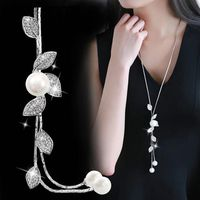 RAVIMOUR Simulated Pearl Choker Necklaces for Women