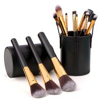 Makeup Brush Sets  Golden Style New
