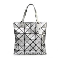 Geometric Plaid Shoulder Bag - Urbclo | UrbClo.com