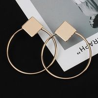 Let's Party Now Square Hoops Earrings