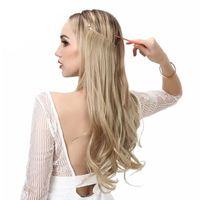 """14"""" 16"""" 18"""" 120g Wave Halo Hair Extensions"""