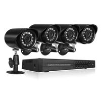 4 Channel Complete 1080p CCTV Camera Security System w/ 1TB DVR- NEW!! - Computers 4 Less