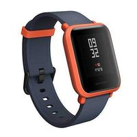 Amazfit Bip Smartwatch by Huami with All-Day Heart Rate and Activity Tracking, Sleep Monitoring, GPS, Ultra-Long Battery Life, Bluetooth, US Service and Warranty (A1608 Orange) - One for All Mall