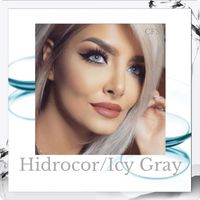 FreshGo Hidrocor Icy Gray Contact Lenses - Fashion For Your Eyes by Couture Fashion Source