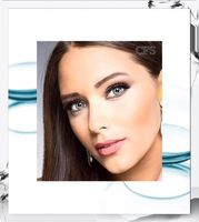 Sterling Gray Freshlook Colorblends Colored Contact Lenses