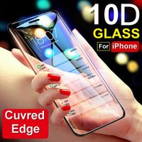 10D Tempered Glass for iPhone X - gadgetlead
