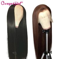 Straight 13x6 Lace Front Human Hair Wigs Glueless - oxeye-girl-human-hair-store