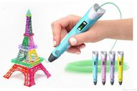3D Printing Pen 2nd Gen + FREE 30 Feet of PLA Filament (the material it uses) - Trendy Gadgits
