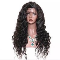 "Vixen Collection ""Rosa"" Loose Wave Full Lace Wig 1B"