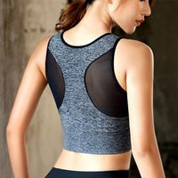 Women's Seamless High Impact Sports Bra with Removable Cups - Raafusport online sport store.
