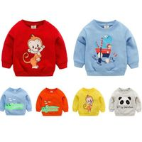 1pc baby Clothes Girls Boys Sweatshirts baby soft cotton Top Cartoon sweater Children Spring autumn pullover Kids Outerwear - beyondsimple
