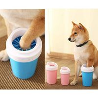 Effortless Pet Paw Cleaning Cup for Cats and Dogs Grooming