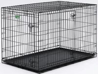 """Midwest iCrate Double Door Dog Crate 36""""L x 23""""W x 25""""H"""