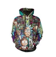 Rick and Morty Hoodie - Save more live more for less