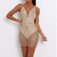 lillilly - Mesh Sheer See Through Short Mini Dress - Lil'Lilly -