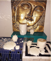 """Aromatherapy """"Energy Cleanser"""" Soy/beeswax Candle Collection - Intuitive Clarity Candle Boutique"""