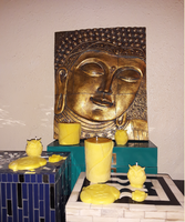 """Aromatherapy """"Happiness"""" Soy/beeswax Candle Collection - Intuitive Clarity Candle Boutique"""