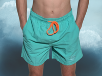 Men's WAVE Board Shorts Turquoise