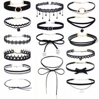 Black Chokers Collection