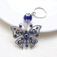 Lucky Butterfly  Keychain For Men Women Fashion Craft Key Ring