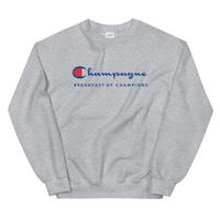 Champagne Breakfast of Champions Sweatshirt - Galaxy Outfitters