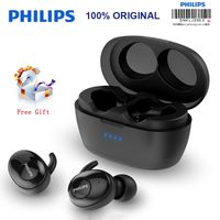 New Philips Wireless Headset SHB2505 HIFI Noise Canceling In-Ear Bluetooth 5.0 Automatic Switch Function Stereo Binaural Call