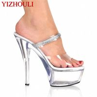 6 Inch High Heel Sexy Party Crystal