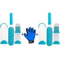 Pet Hair Cleaning Kit - Pet Grooming Glove Hair Remover - The Wow Gadget