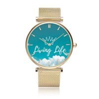 Living Life Unique Stainless Steel Watch Collection Gold,33mm,Living Life Unique Stainless Steel Watch Collection,Silver,33mm,Living Life Unique Stainless Steel Watch Collection,Rose Gold,33mm,Living Life Unique Stainless Steel Watch Collection 65.00 GBP