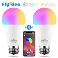Wireless Bluetooth LED Colour Changing Dimmable Smart Bulb  - IOS/Android