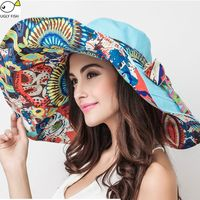 Floral Sun Hats - Simply Fabby