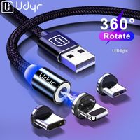 Fast Charging Magnet Charger USB Cable Mobile Phone Wire Cord