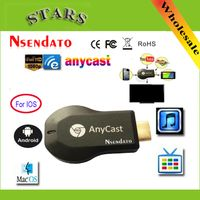 128M Anycast m2 ezcast Miracast Any Cast Wireless DLNA AirPlay Mirror HDMI TV Stick Wifi Display Dongle Receiver for IOS Android - Greatlakeselectronics
