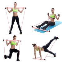 Women's Yoga Pull Resistance Band for Home Workout - Extra Fitness