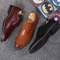 Brogue Formal Leather Shoes - Men - Blokes & Dames