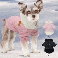 French Bulldog Clothes Winter Pet Clothes Pink